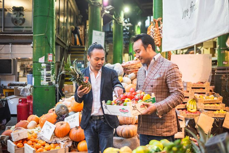 From L-R: Tim Lui and Jeeho Park, founders of Eaten: Eaten
