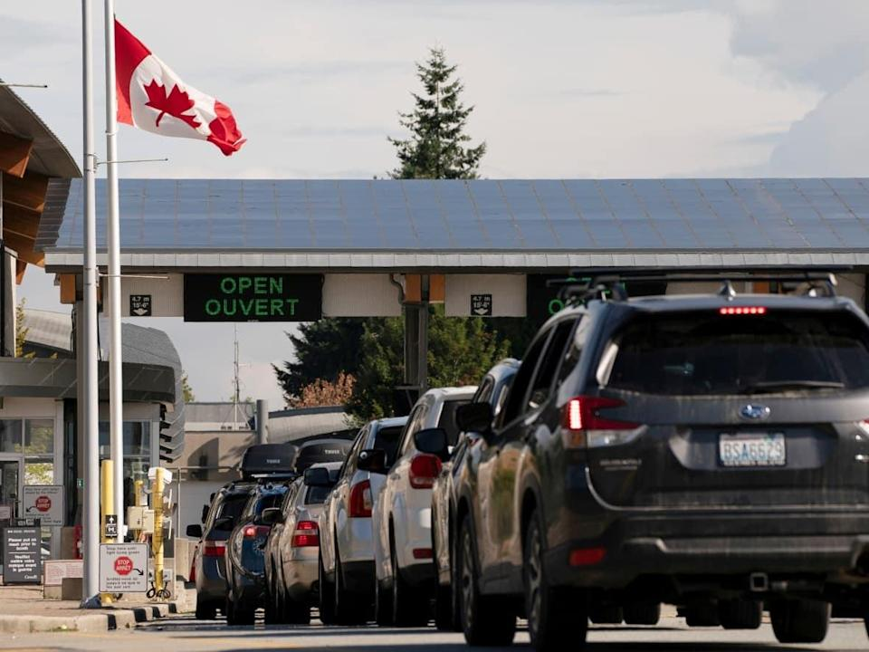 Entering Canada requires a molecular COVID-19 test that costs more than $100 US and often takes more than a day to get. Critics in the U.S. say that makes many trips across the land border impossible. (David Ryder/Reuters - image credit)
