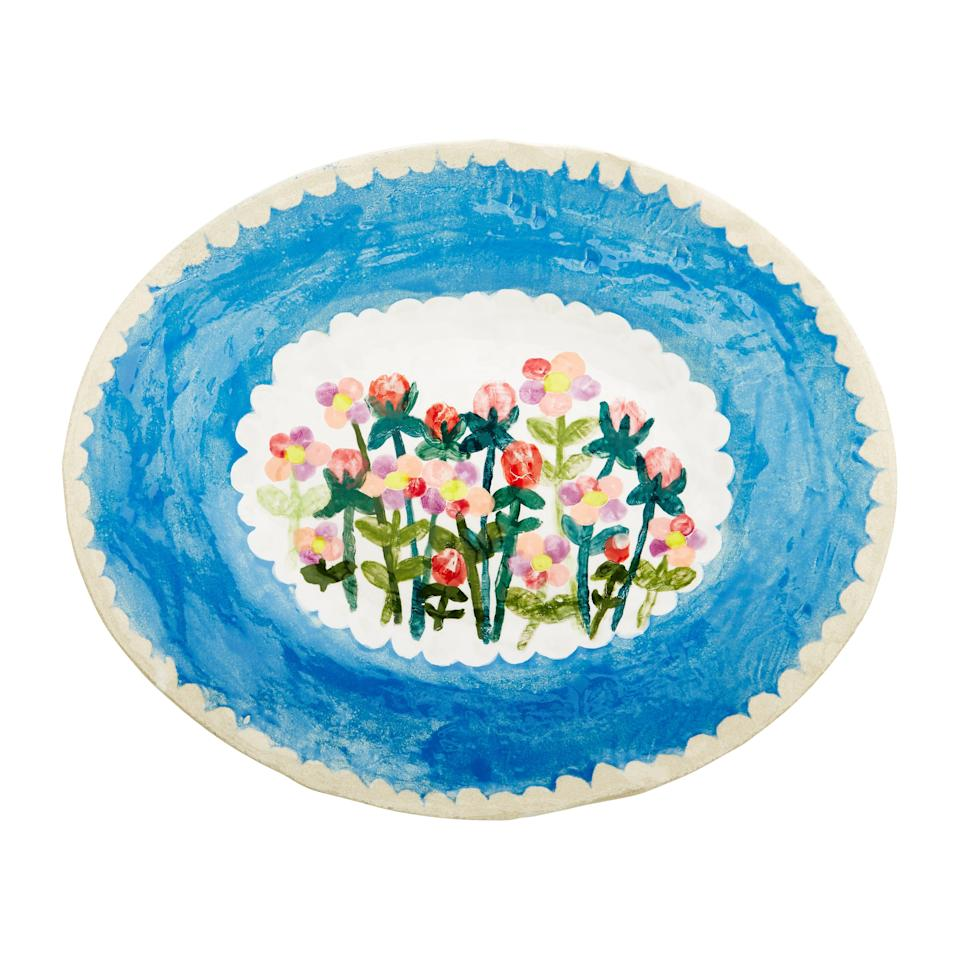 Folksy: ceramics by Francesca Kaye at Anthropologie include oval dishes, £140
