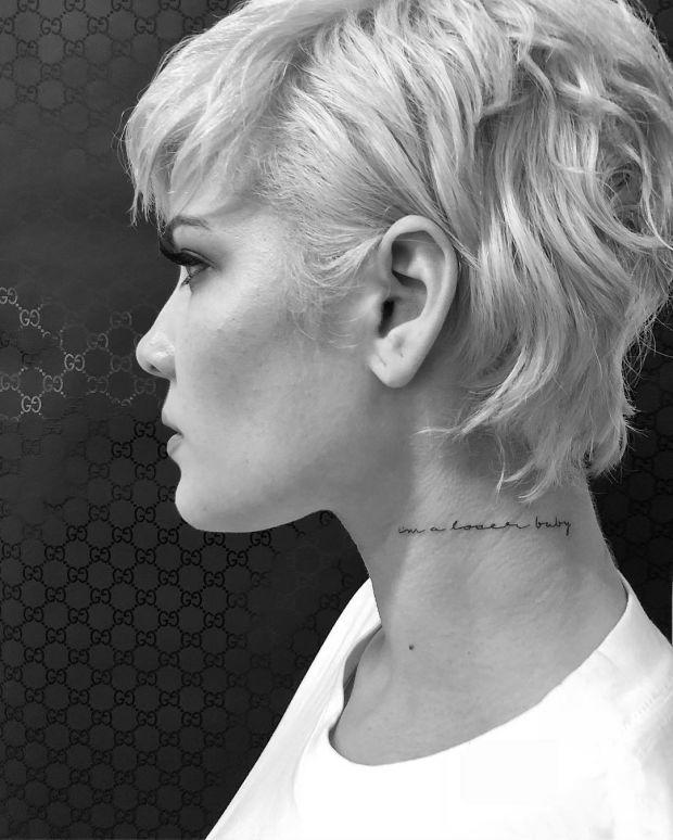 Why Neck Tattoos Are On The Rise Among The Fashion Set