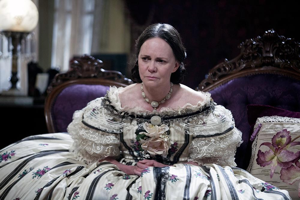 "In ""Lincoln,"" Mary Todd Lincoln voices concern that a sniper might kill her son. However, the word ""sniper"" was not used until after the Civil War. The historically correct term would have been ""sharpshooter."" The film also shows a bust of President Woodrow Wilson, who wasn't even born until 1856."