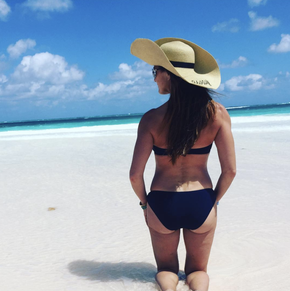 <p>Yep, Brooke Shields still bosses a bikini at 52.<em> [Photo: Brooke Shields/ Instagram]</em> </p>