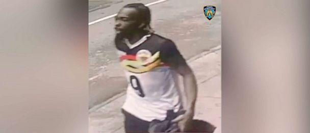 PHOTO: A man identified as whom police have identified as Farrakhan Muhammad and says is connected to a shooting near West 44th Street and 7th Avenue is seen in this still image taken from a surveillance footage in  in Manhattan New York,  May 8, 2021. (@NYPDDetectives via Reuters)