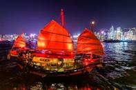Hong Kong's only antique junk boat, the Dukling, has suspended trips because of new coronavirus restrictions introduced in the city