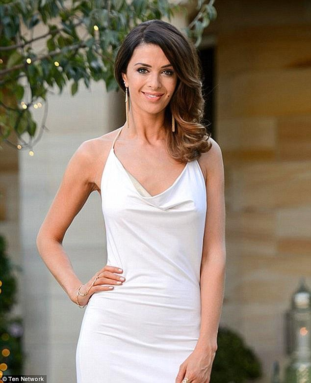 A photo of Emily Simms on The Bachelor in 2015.