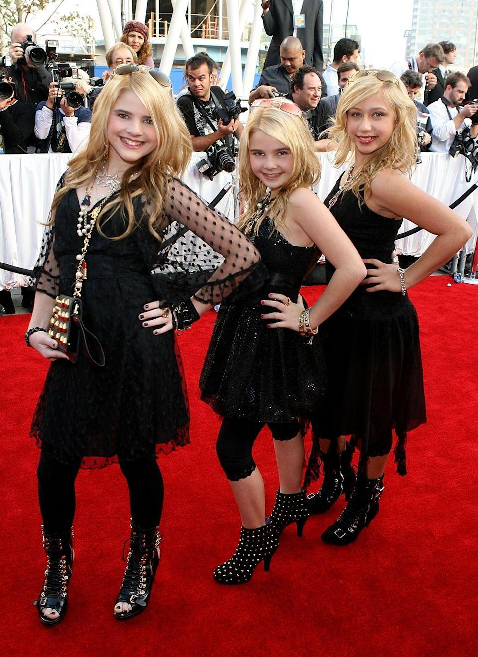 """<p>The Clique Girlz had their moment of pop fame in 2008 with the release of their only studio album, <em>Incredible</em>. The group was comprised of two sisters—Destinee and Paris Monroe—and their friend Ariel Moore. If you don't remember the blonde trio, give their hit song """"Then I Woke Up"""" a listen. </p>"""