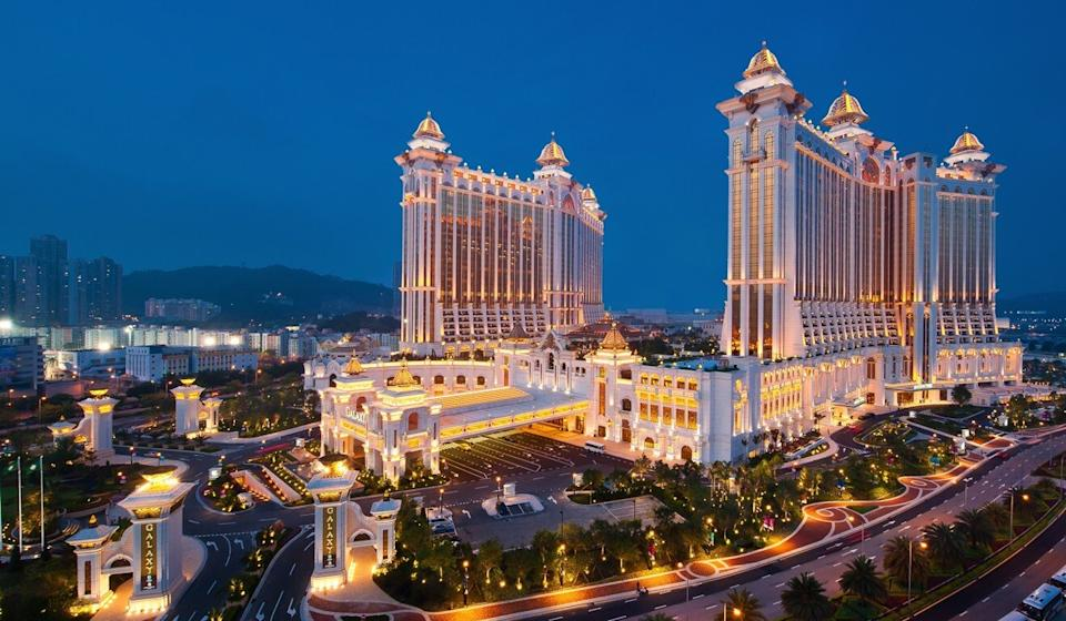 The Galaxy casino and resort in Macau, where retired RCMP liaison officer Ben Chang has been working as a security executive. Photo: SCMP