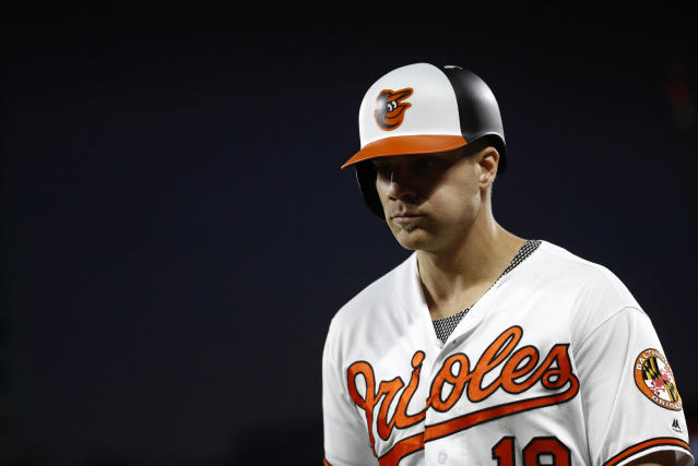 Chris Davis' futility at the plate has inspired a Baltimore bar to offer free booze every time he gets a hit. (AP)
