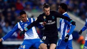 Real Madrid lost 1-0 to Espanyol in the Spanish league to see its five-game winning streak come to an end.