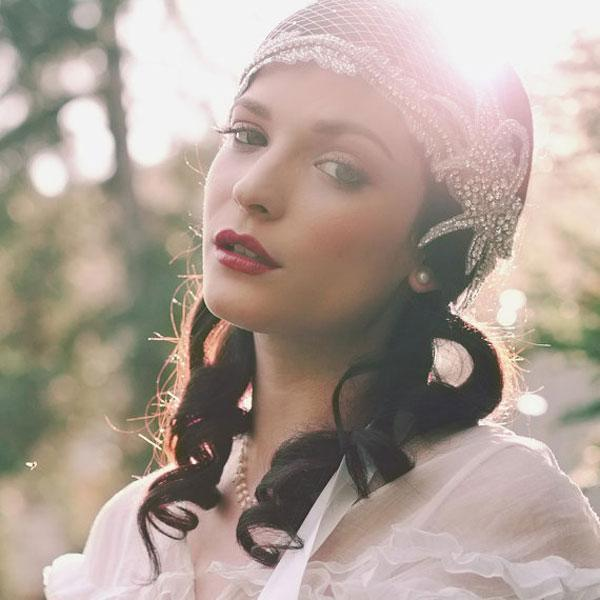 """<div class=""""caption-credit""""> Photo by: by Etsy seller EricaElizabethDesign</div><div class=""""caption-title"""">17. Bohemian Cap</div>This breathtaking style is perfect for a garden ceremony. Boho-chic accessories bring romance, style and drama. I die for this look in photos, but probably couldn't pull it off myself. <br> <br> <a rel=""""nofollow noopener"""" href=""""http://www.etsy.com/listing/90656244/deco-bridal-cap-beaded-ribbon-tie"""" target=""""_blank"""" data-ylk=""""slk:Deco beaded bridal cap"""" class=""""link rapid-noclick-resp"""">Deco beaded bridal cap</a> by EricaElizabethDesign. <br> <br> <b>Related: <a rel=""""nofollow noopener"""" href=""""http://www.bridalguide.com/blogs/fashion-beauty/how-to-select-the-perfect-diamond"""" target=""""_blank"""" data-ylk=""""slk:How to Select the Perfect Diamond"""" class=""""link rapid-noclick-resp"""">How to Select the Perfect Diamond</a></b> <br>"""