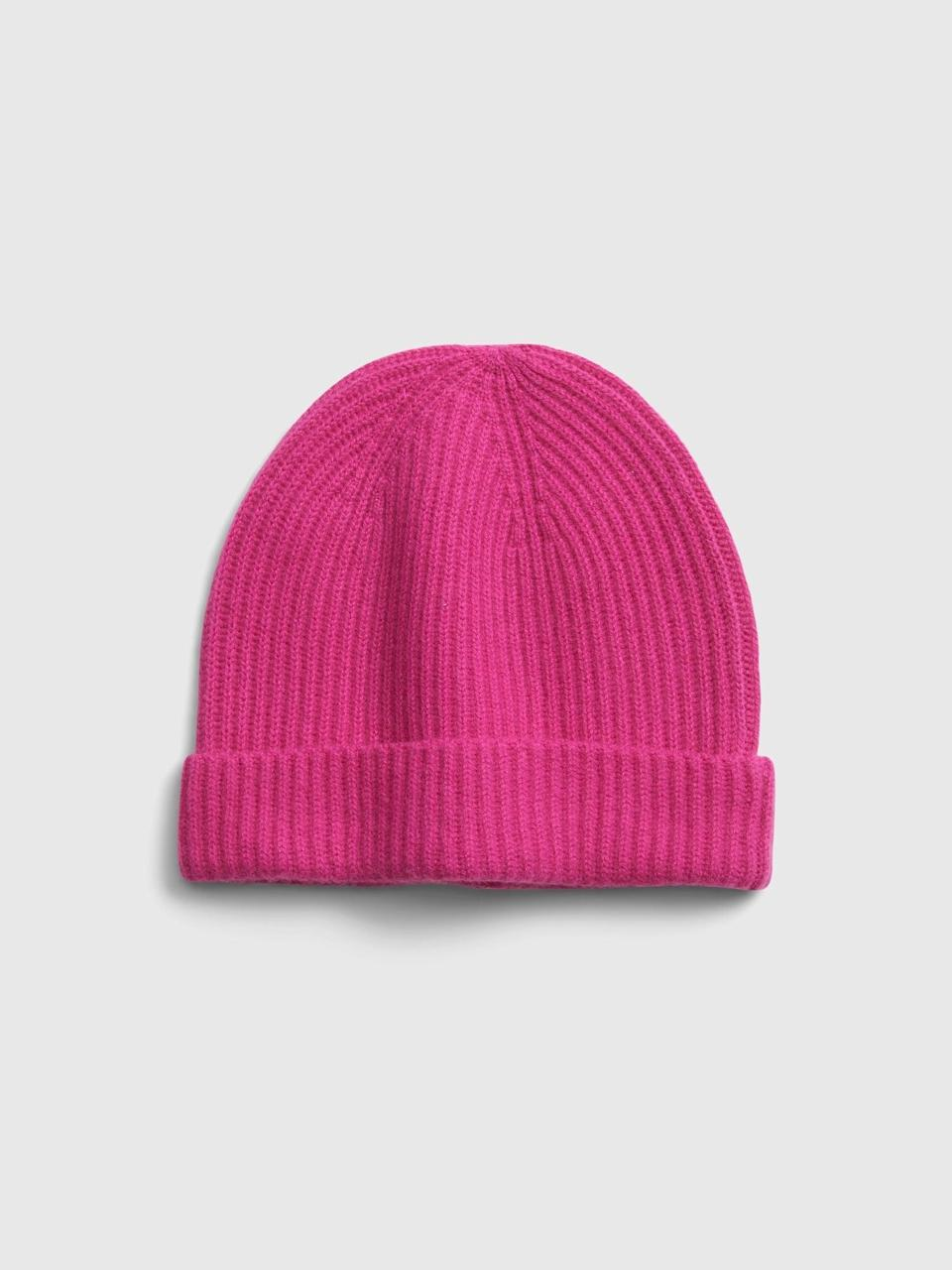 <p>Valentine's day or not, we love this luxe <span>Gap Cashmere Beanie</span> ($45, originally $50)!</p>