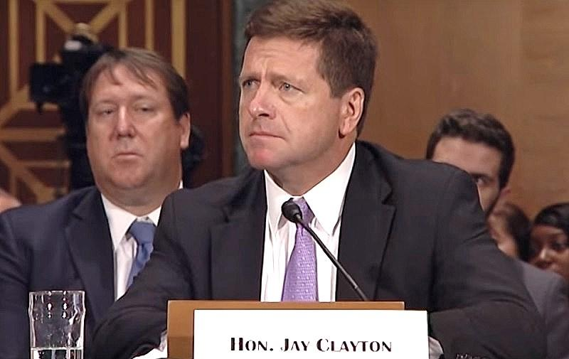 sec chairman jay clayton cryptocurrency