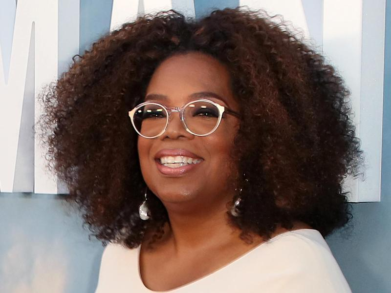 """Oprah Winfrey attends the premiere of OWN's """"David Makes Man"""" at NeueHouse Hollywood on August 6, 2019, in Los Angeles."""