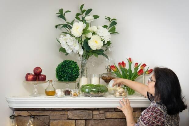 Each item on the haft-seen table is a symbol of spring and renewal and begins with the letter S in Farsi. 'Haft' means seven in Farsi, and 'seen' is the equivalent of the English letter S.