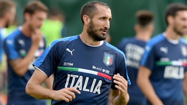 Chiellini in doubt for Champions League opener against Barcelona
