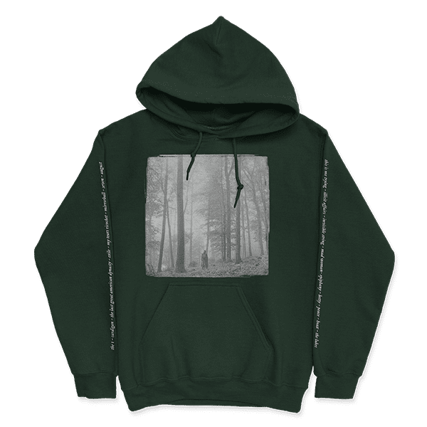 "<p><span>Taylor Swift ""In the Trees"" Hoodie and Standard Digital Album</span> ($60)</p>"