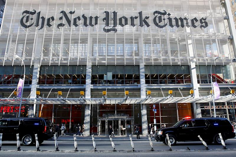 The New York Times published a correction after opinion writer Bari Weiss cited a fake Twitter account to bolster her criticism of liberals. (Photo: Shannon Stapleton / Reuters)