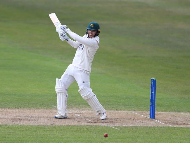 Ben Slater frustrated Essex to earn Nottinghamshire a draw