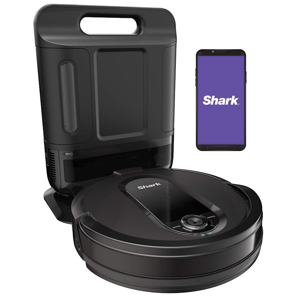 """<h2>47% Off Shark IQ Robot Vacuum</h2><br>Next in line after Dysons, the second most wanted cleaning gadgets were robot vacuums. These smart gizmos come with a mind of their own and sweep up messes without you needing to lift a finger. Amazon is stocked with tons of Shark robot vac deals that you don't want to miss. <br><br><em>Shop</em> <strong><em><a href=""""https://amzn.to/3gSfxiH"""" rel=""""nofollow noopener"""" target=""""_blank"""" data-ylk=""""slk:Shark"""" class=""""link rapid-noclick-resp"""">Shark</a></em></strong> <br><a href=""""https://goto.target.com/kjRN1v"""" rel=""""nofollow noopener"""" target=""""_blank"""" data-ylk=""""slk:Shop $150 off Shark IQ Robot Vacuum at Target"""" class=""""link rapid-noclick-resp""""><em>Shop <strong>$150 off</strong> Shark IQ Robot Vacuum at <strong>Target</strong></em></a><br><br><strong>Shark</strong> Robot Vacuum with XL Self-Empty Base, $, available at <a href=""""https://amzn.to/3iSQqPE"""" rel=""""nofollow noopener"""" target=""""_blank"""" data-ylk=""""slk:Amazon"""" class=""""link rapid-noclick-resp"""">Amazon</a>"""