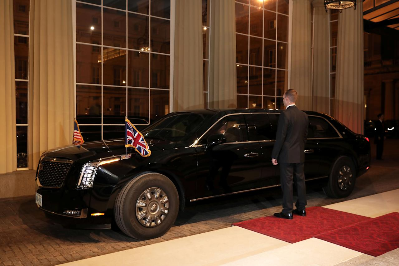 The POTUS's car (nicknamed 'the Beast', 'Cadillac One','First Car'; code named 'Stagecoach') is the official state vehicle of the President of the United States. The current model of presidential state car is a unique Cadillac that debuted on September 24, 2018.