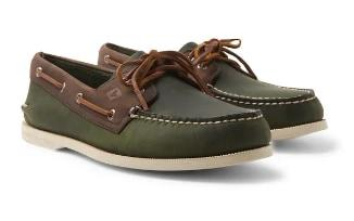 Sperry Top-Siders are a classic choice