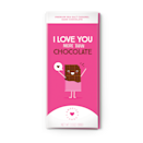 "<p>sweetercards.com</p><p><strong>$8.99</strong></p><p><a href=""https://www.sweetercards.com/collections/chocolat/products/i-love-you-more-than-chocolate-but-please-share-this-with-me"" rel=""nofollow noopener"" target=""_blank"" data-ylk=""slk:Shop Now"" class=""link rapid-noclick-resp"">Shop Now</a></p><p>We simply cannot get over this fun packaging! The chocolate bar pictured here ""opens up"" just like your favorite greeting cards, and there's space to write a sweet message inside.</p>"