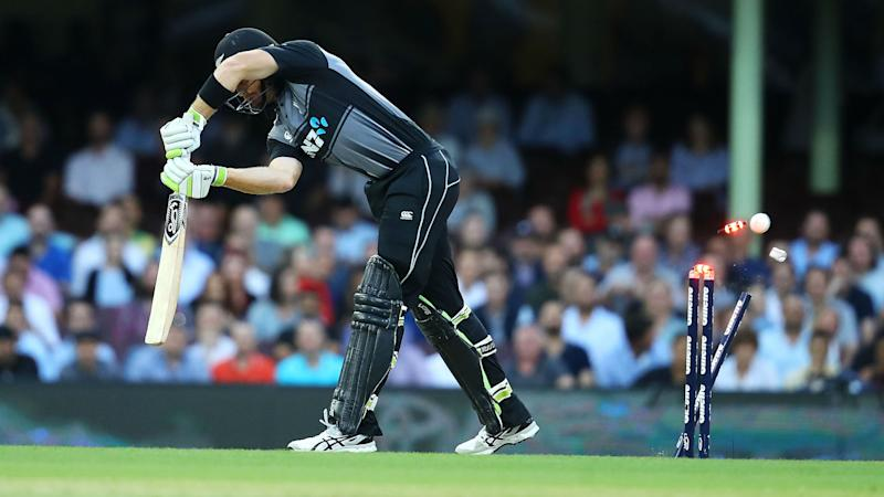 I can't tell you what he said: Guptill reaction raises laugh from Taylor