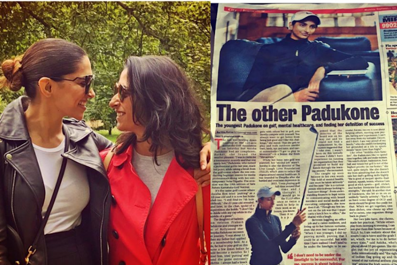 'Not The Other Padukone': Deepika Corrects Newspaper Headline On Younger Sister Anisha