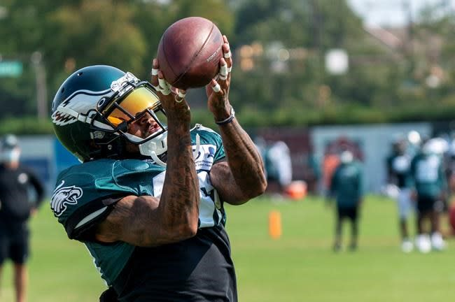 'Get your popcorn ready:' Jackson hopes to shine for Eagles