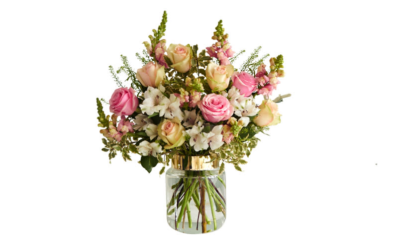 "<p>Can't spend the day together? No need to panic, as Bloom and Wild delivers superb bunches by letterbox. <a rel=""nofollow"" href=""https://www.bloomandwild.com/send-flowers/tagonly/letterbox""><em>Buy now</em></a>. </p>"