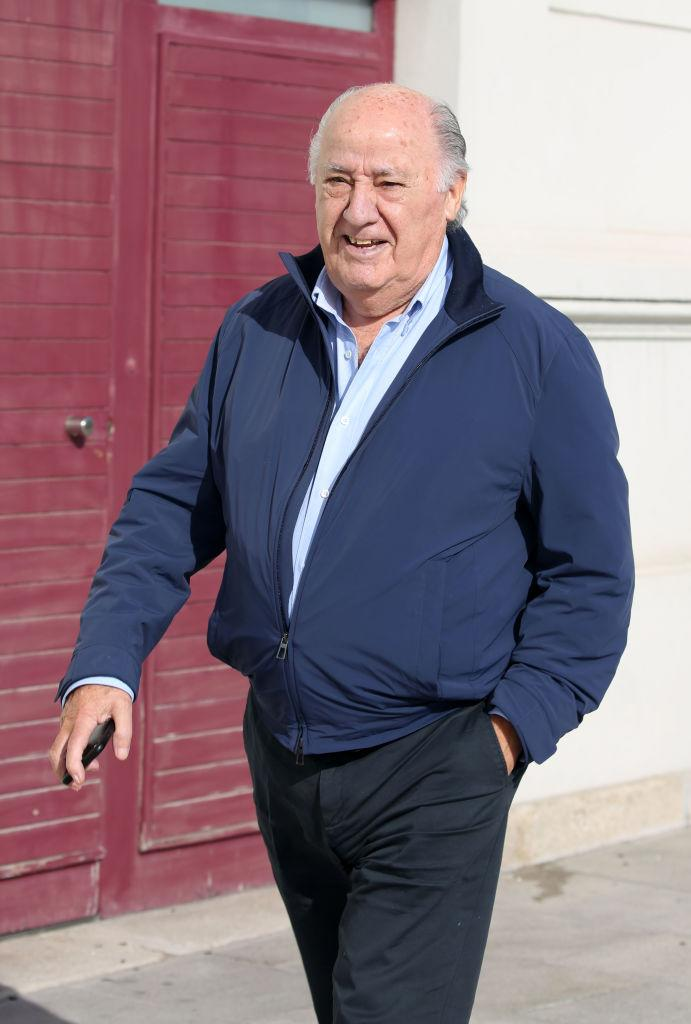 A CORUNA, SPAIN - NOVEMBER 17:  Amancio Ortega is seen on November 17, 2018 in A Coruna, Spain.  (Photo by Europa Press/Europa Press via Getty Images)