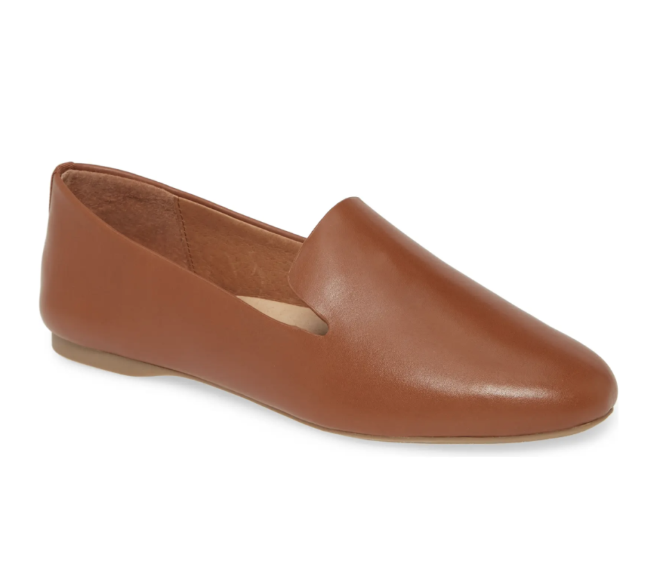 The Starling Loafer in Cognac Leather - $140