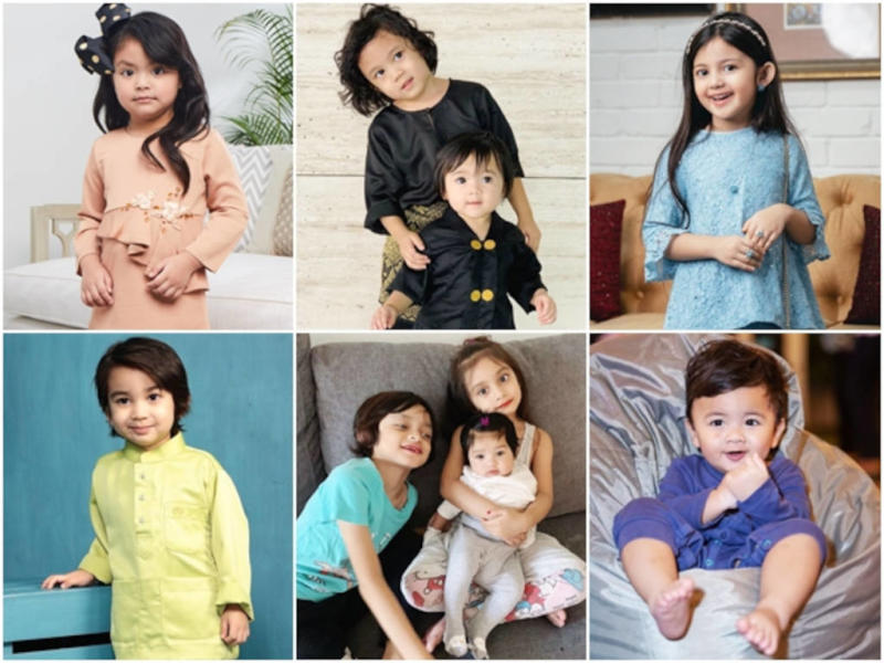 Look at those chubby cheeks! These Malaysian celebs' kids are adorable.