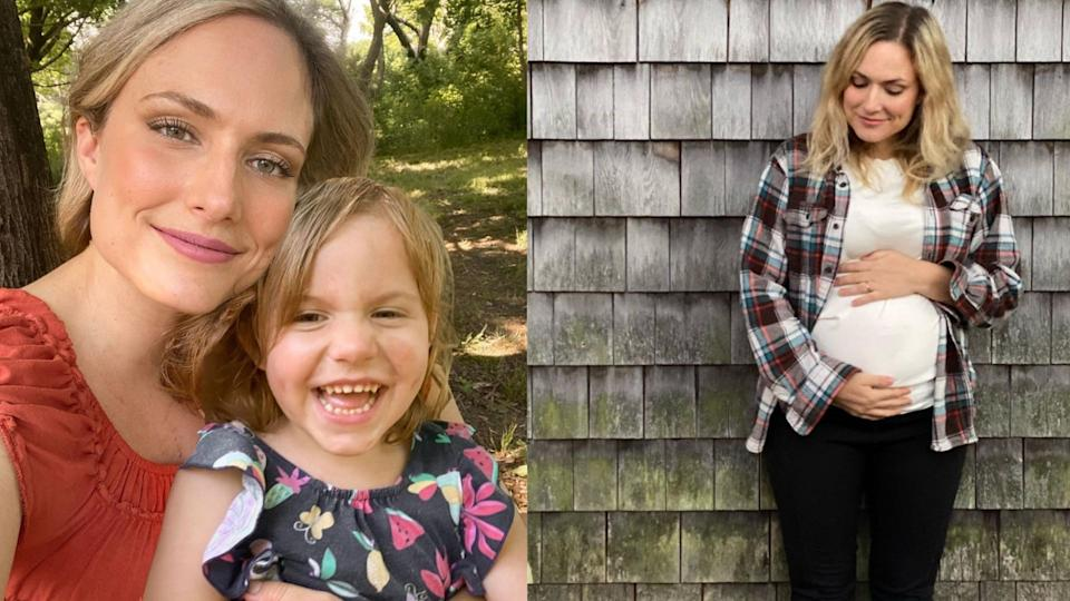 Emily Mitchell, a popular mommy blogger, died suddenly at her home of a pulmonary embolism. (Images via Instagram/TheHiddenWay)