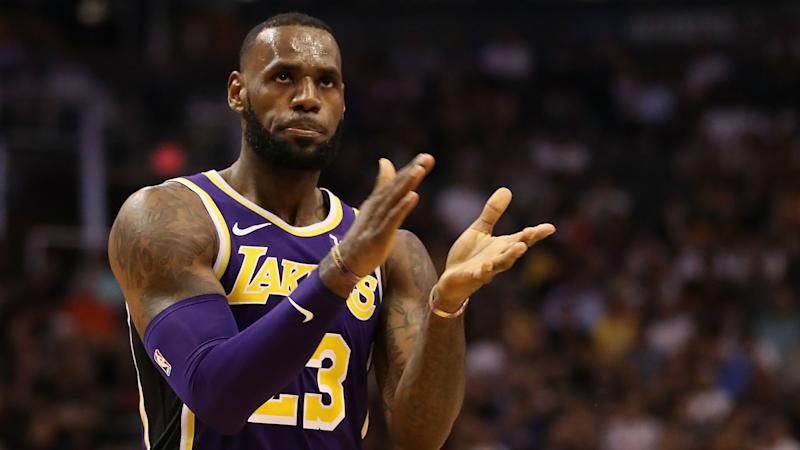 Inexperienced Lakers starting to wear on LeBron