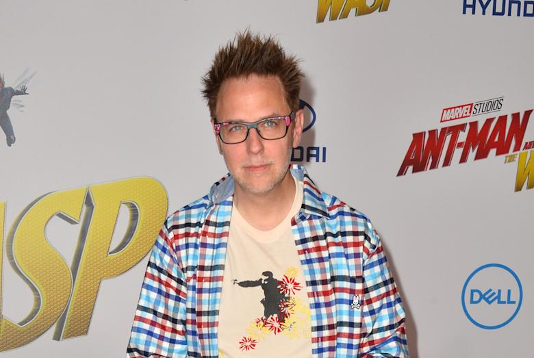 James Gunn Was Set To Announce A Sinister Sounding New Project Friday Night During Sonys San Diego Comic Con Presentation But Hours After Losing Directing
