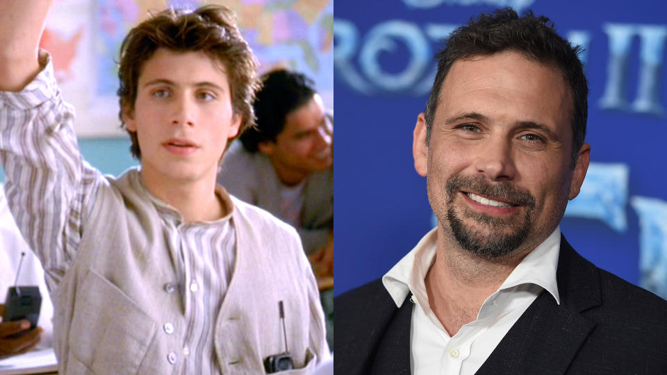 Jeremy Sisto in 'Clueless' and in 2019. (Credit: Paramount/CBS/Getty/Jordan Strauss/Invision/AP)