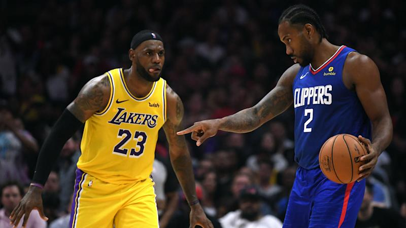 What channel is Lakers vs. Clippers on today? TV schedule, start time for NBA's 2020 restart
