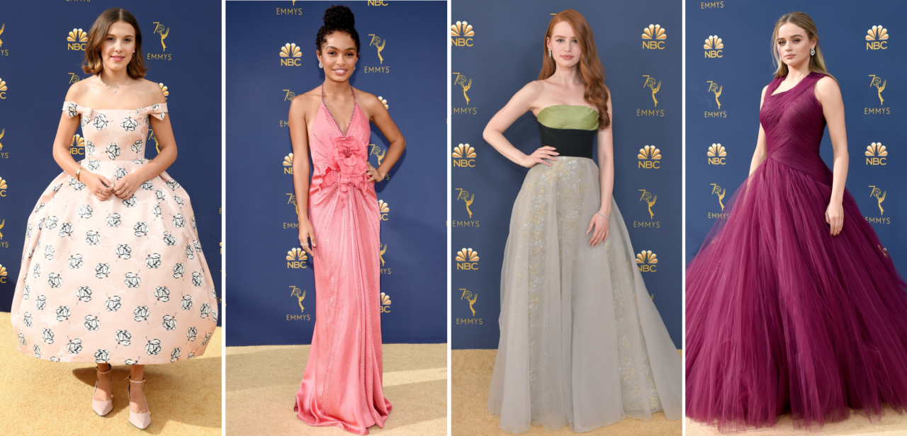 <p>Here's how the casts of your fave TV shows - from <em>Game of Thrones</em> to <em>Stranger Things</em> to<em> The Handmaid's Tale </em>and more! - hit the 2018 Emmys red carpet.</p>
