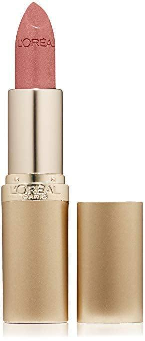 <p>The <span>L'Oréal Paris Makeup Colour Riche Hydrating Satin Lipstick in Mica</span> ($6, originally $9) is a muted pink perfect for an office setting. </p>