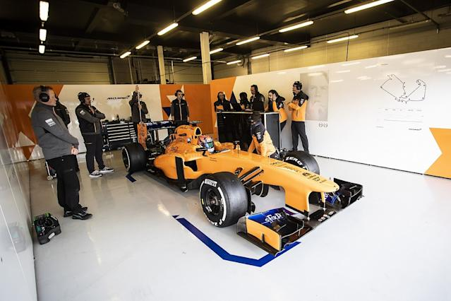 Video: Behind the scenes at Gamble's Award F1 test