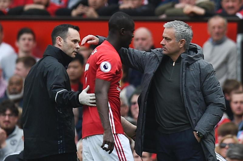 Eric Bailly added to Jose Mourinho's injury list: AFP/Getty Images