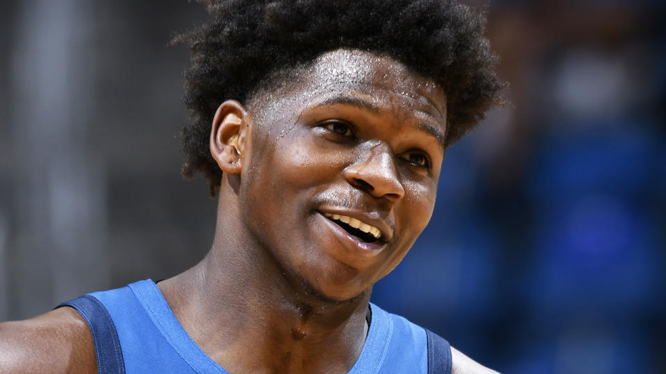 After a slow start, Minnesota's number one draft pick Anthony Edwards came good down the stretch, emerging as a fantasy force in the second half of the season. (Photo by Fernando Medina/NBAE via Getty Images)