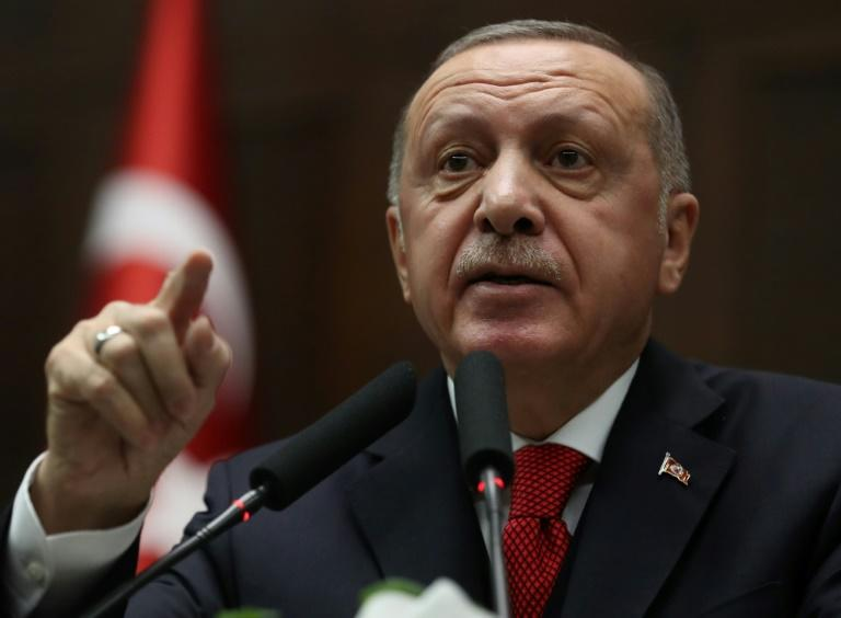 Turkish President Recep Tayyip Erdogan says the EU needs to show it is a 'relevant actor in the international arena' (AFP Photo/Adem ALTAN)