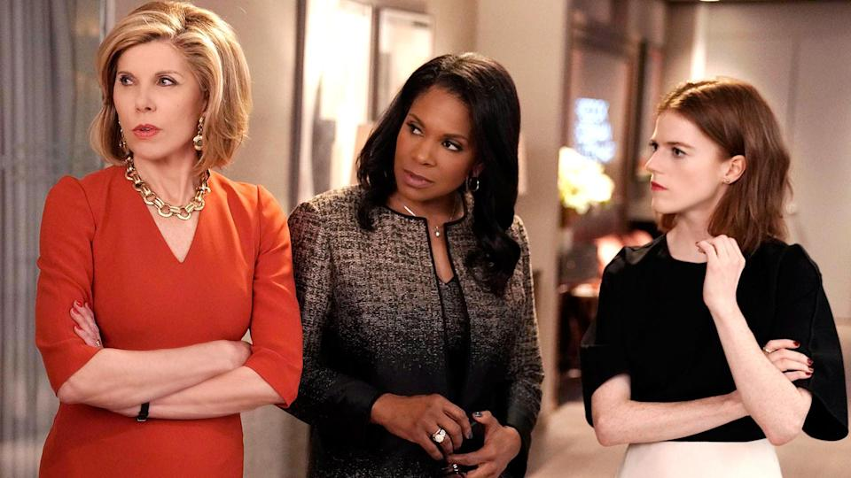 Christine Baranski, Audra MacDonald and Rose Leslie in The Good Fight (CBS)
