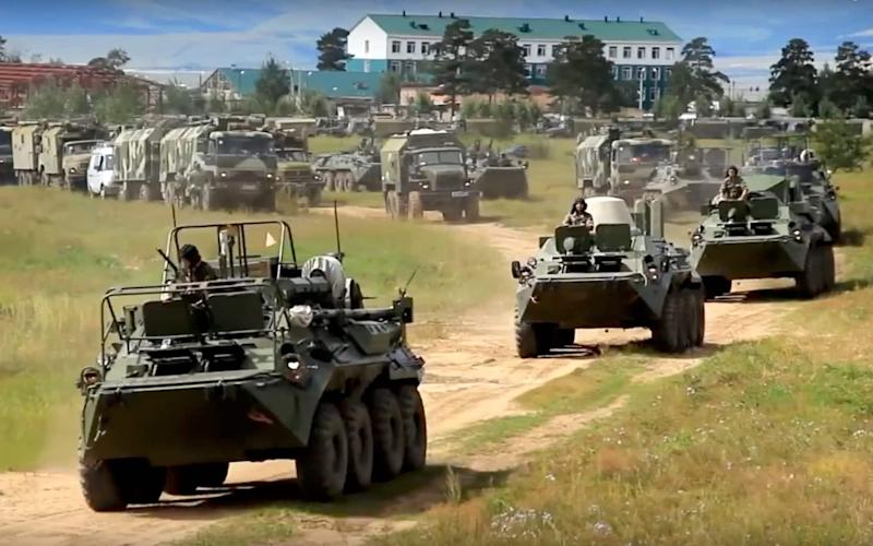The games will last five days and take place across nine training grounds - Defense Ministry Press Service