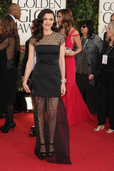 Rachel Weisz arrives at the 70th Annual Golden Globe Awards held at The Beverly Hilton Hotel on January 13, 2013 in Beverly Hills, California. (Photo by Steve Granitz/WireImage)