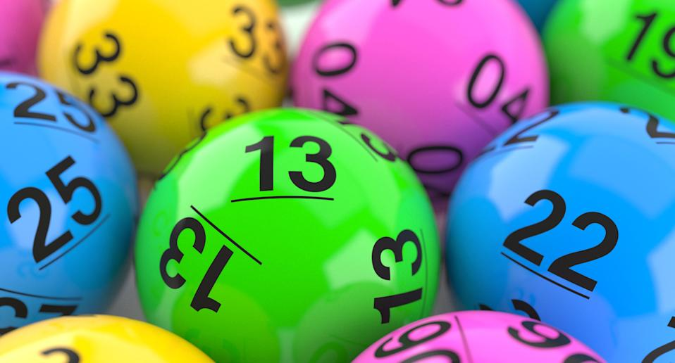 Generic looking lotto balls after South African lotto scandal.