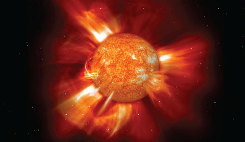 Solar Storms Remove Electrons From Atmosphere, Create Northern Lights