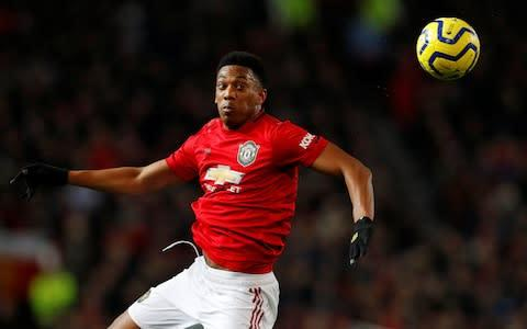 <span>Anthony Martial returns after injury</span> <span>Credit: Reuters </span>